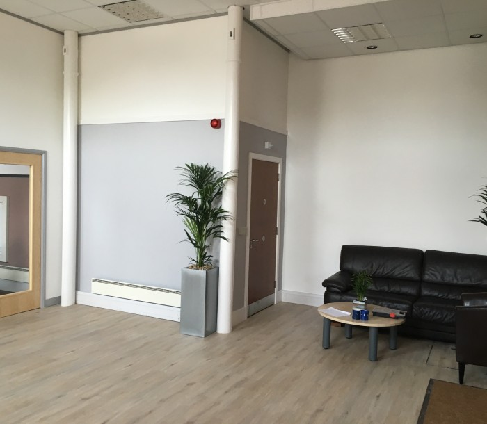 Office Reception & Refurbishment 2