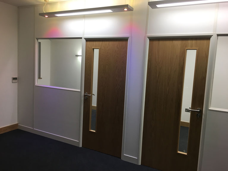 Soundproof Meeting Rooms for Minshalls, Newthorpe