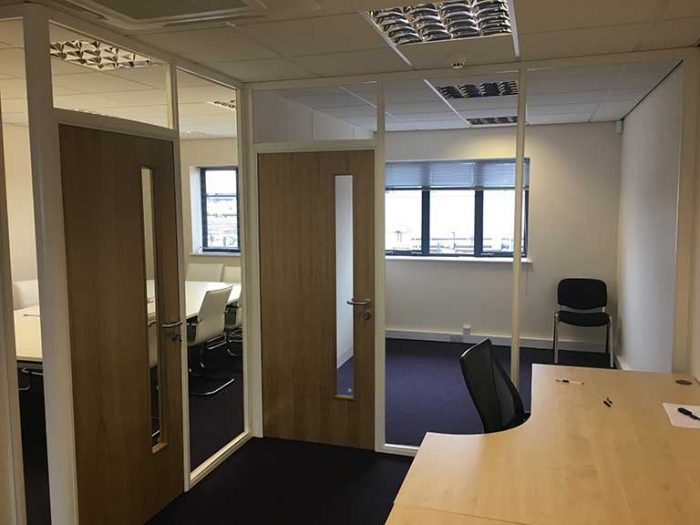 Office Partitions DGauge Derby