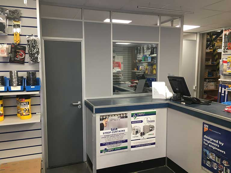 Privacy Screen for FSW Nottingham