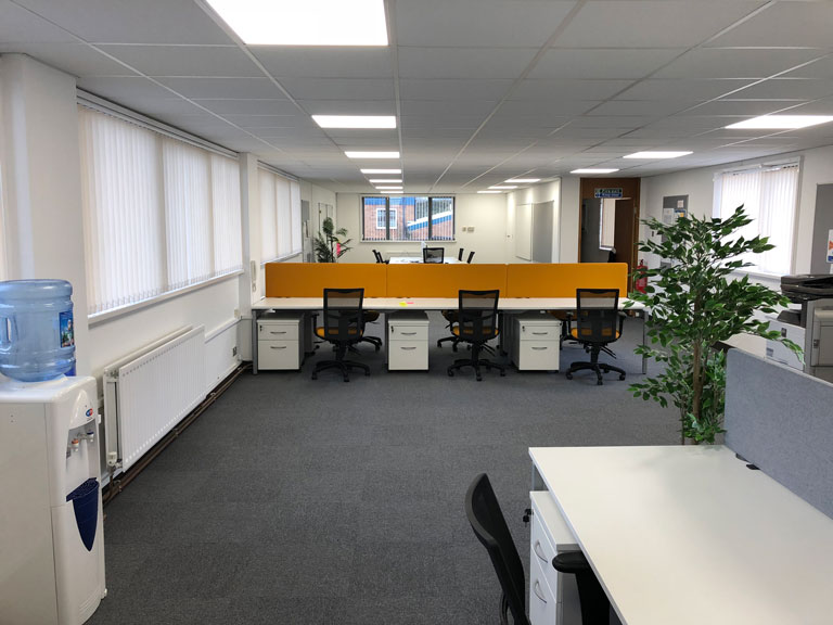 Office Refurbishment For Apollo Aerospace, West Midlands ...