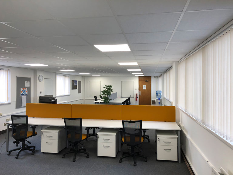 Office Refurbishment for Apollo Aerospace, West Midlands