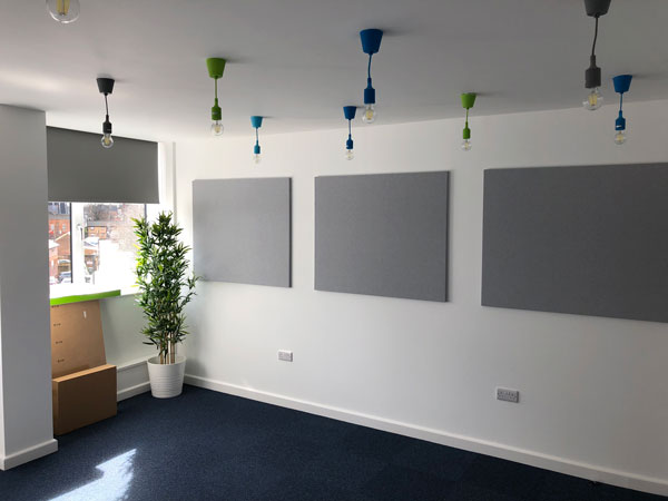 They Can Also Be Fixed To The Wall And Can Really Add A Great Fresh Modern  Style To Your Office As Well As Providing Amazing Sound Absorption.